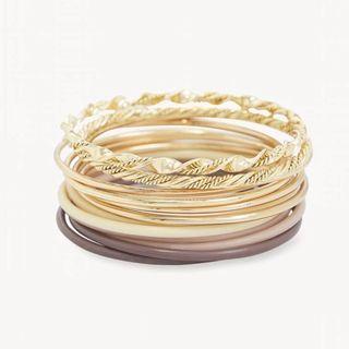 Pomelo Bangle Bracelet Set