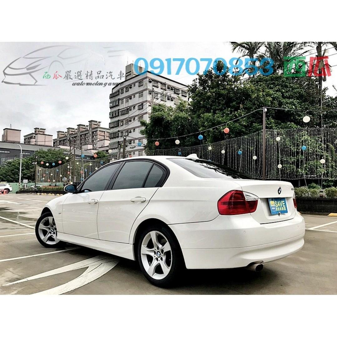 2005年 BMW E90 320I 一手女用車 無惡操惡改 可全額貸款 內外新輕鬆月付千元 特價中