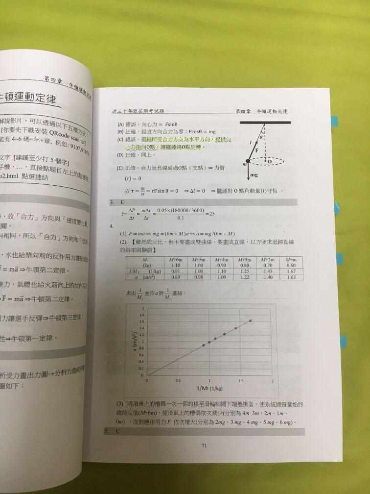 物理近三十年歷屆聯考試題2018版