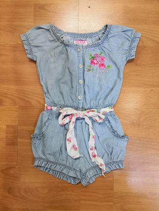 Guess Girl Denim Jumpsuit (with minor defect)