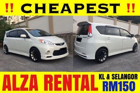 Perodua Alza MPV 6 Seaters ( SEWA/RENTAL )