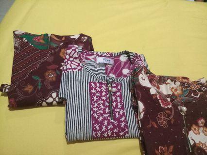Atasan Baju Batik Big Size