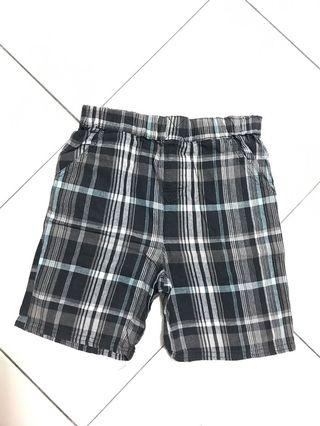 Checker boys shorts pant