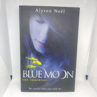 Novel Inggris - Blue Moon (The Immortals #2) by Alyson Noel