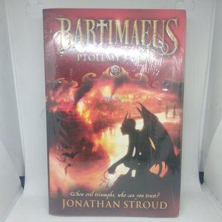 Novel Inggris - Ptolemy's Gate (Bartimaeus #3) by Jonathan Stroud