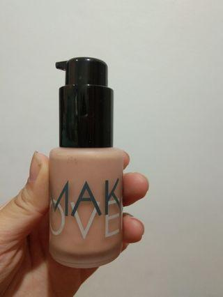 Make Over Foundation shade 02 pink ivory