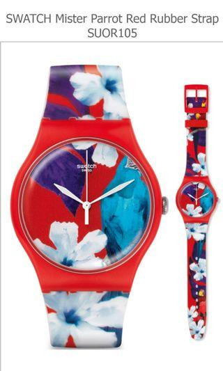 ⌚ On Sale: Original Swatch SUOR105 Mister Parrot ⌚