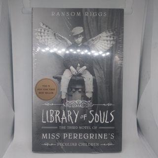 Novel Inggris - Library of Souls by Ransom Riggs