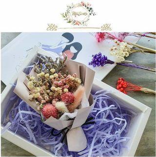 Share:  Favorite (1) Pinkish Mini Flower Bouquet • 粉色系迷你花束
