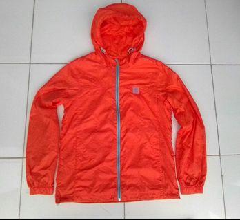 Jaket hoodie parasut fila windbreaker orginal