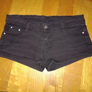 牛仔短褲 低腰  XL