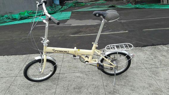 Giant folding bike used good conditio