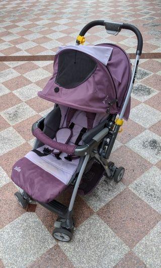二手Joie Mirus Lite 輕便雙向嬰兒推車 (紫色)