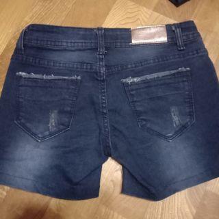 牛仔短褲 S號
