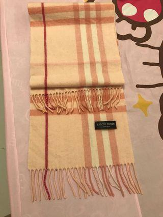Pierre Cardin圍巾🧣(免運)