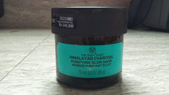 The Body Shop Himalayan Charcoal Mask Masker