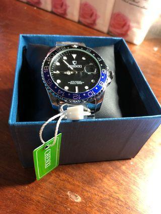 Chenxi 可樂圈 黑藍水鬼錶 潛水錶