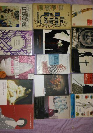 Assorted used books for sale