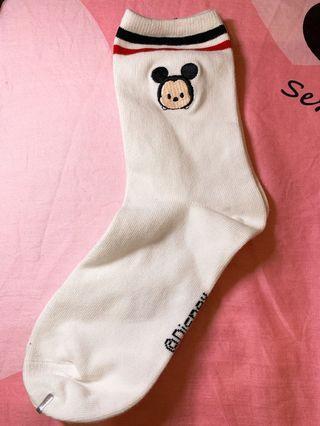 米奇米妮造型襪子