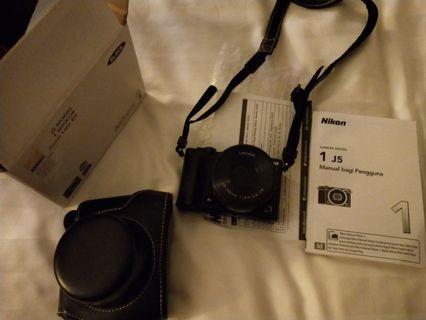 Nikon 1 J5 lengkap ada bonus