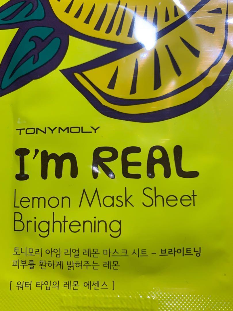8x Korean/ Taiwanese Mask (TonyMoly & MyBeautyDiary)