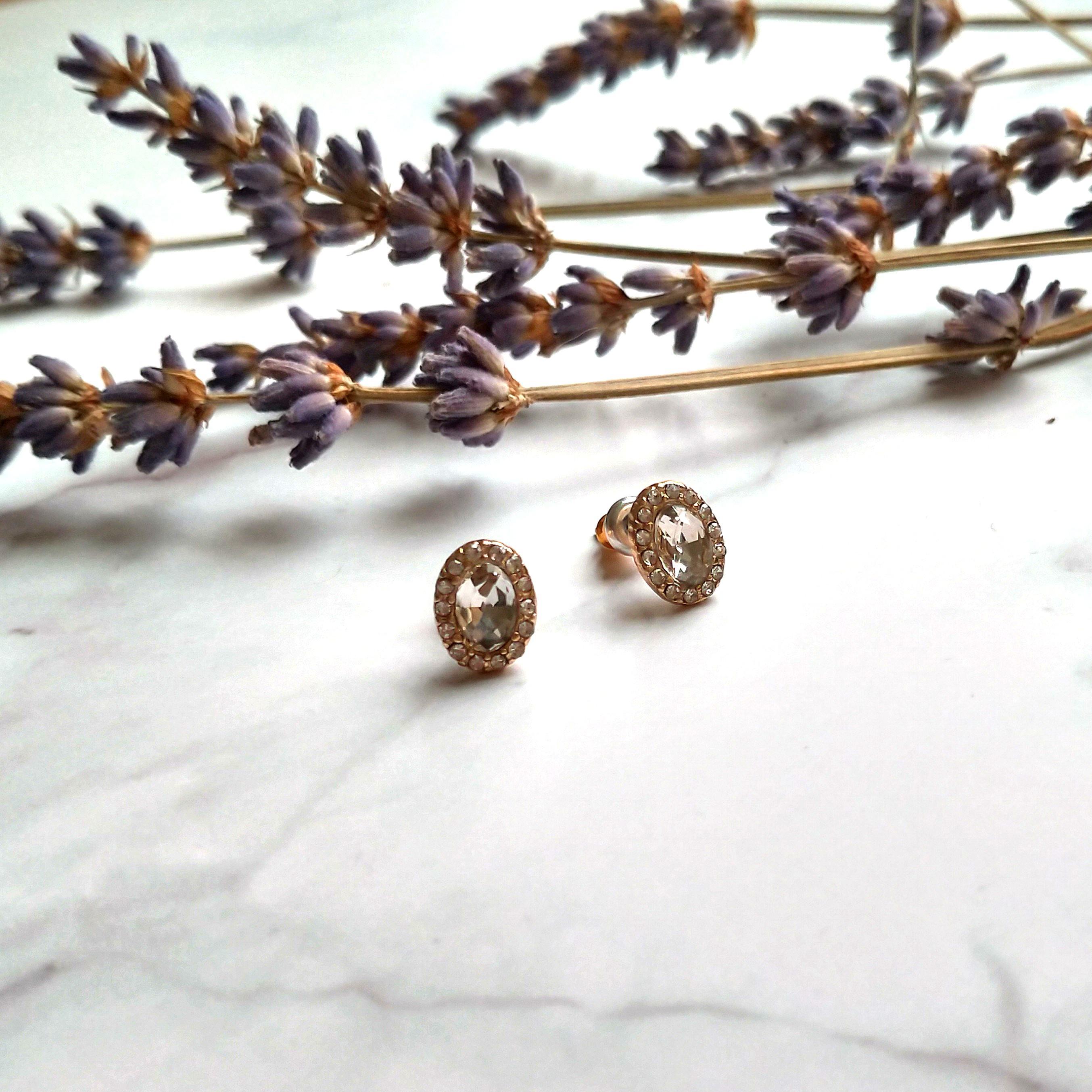 歐風針式耳環