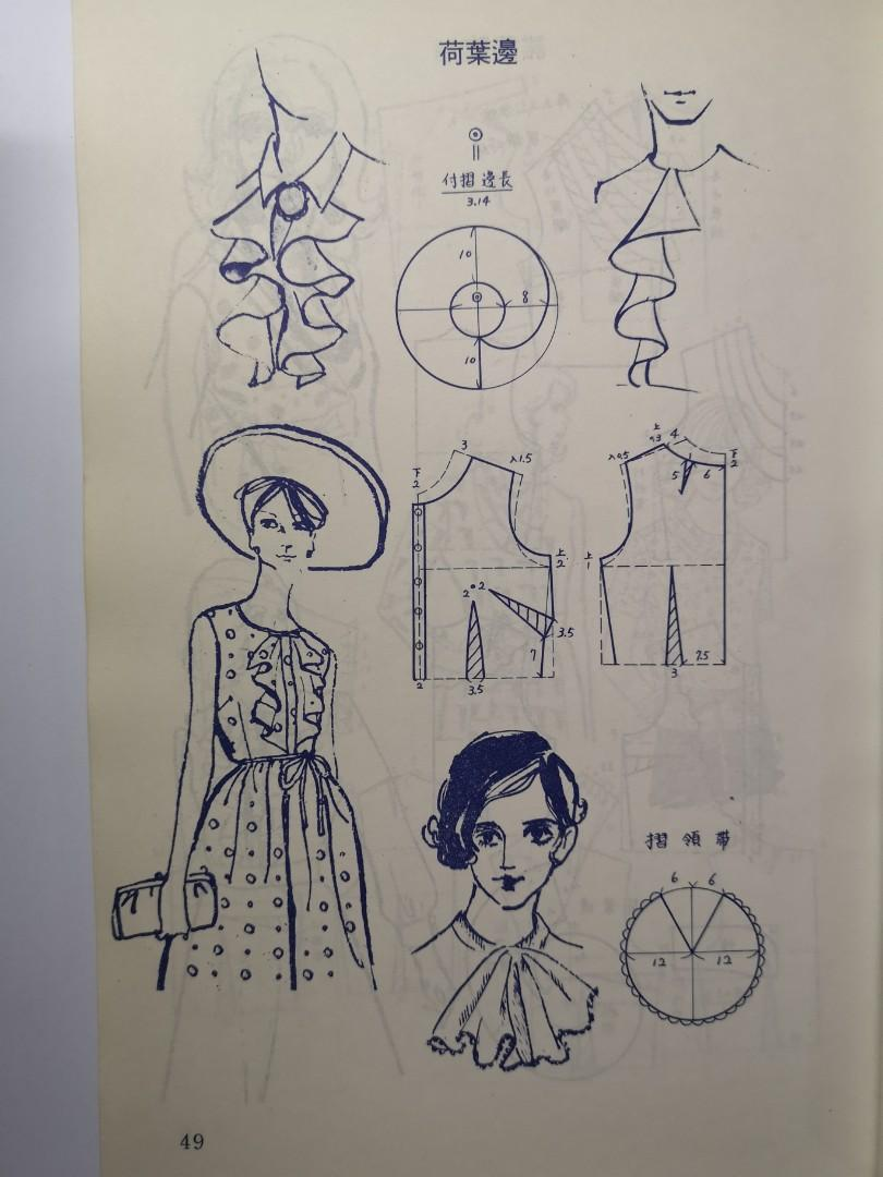 愛麗縫紉全書-裁剪法~懷舊