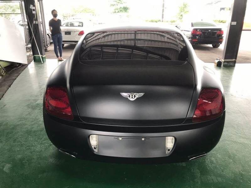 賓利 2004 消光黑 雙渦輪增壓 實車實價店