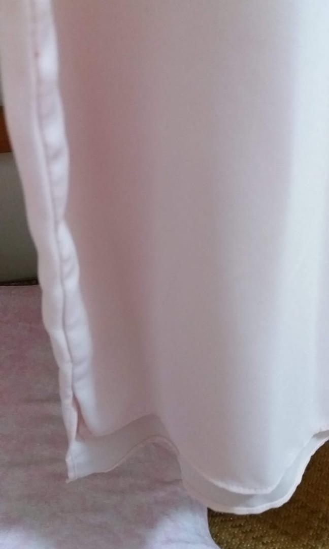 韓國製 全新粉紅色仙氣上衣