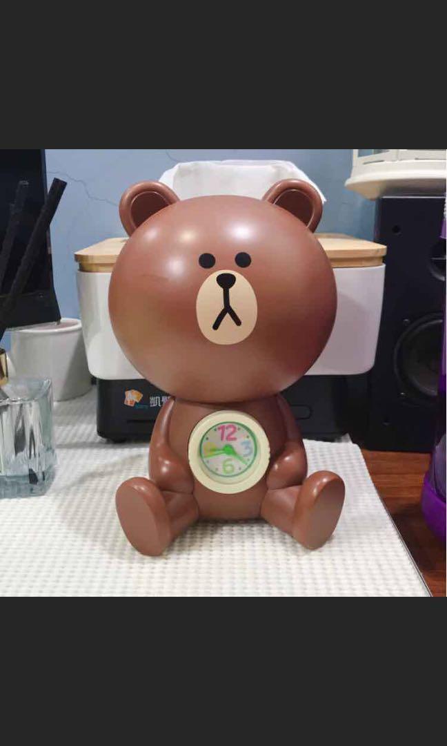 🐻熊大時鐘 存錢筒