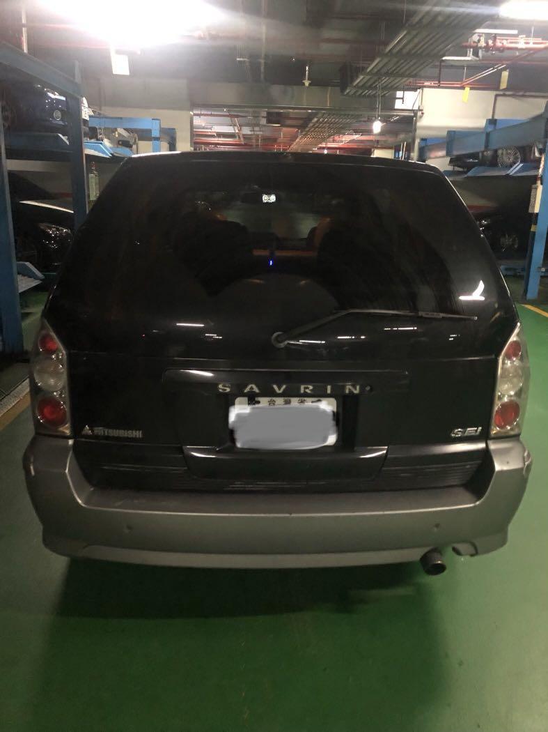 自售 三菱 2002年 SAVRIN 幸福力 2.0EXI 七人座 歡迎式車~每5000公里保養換油