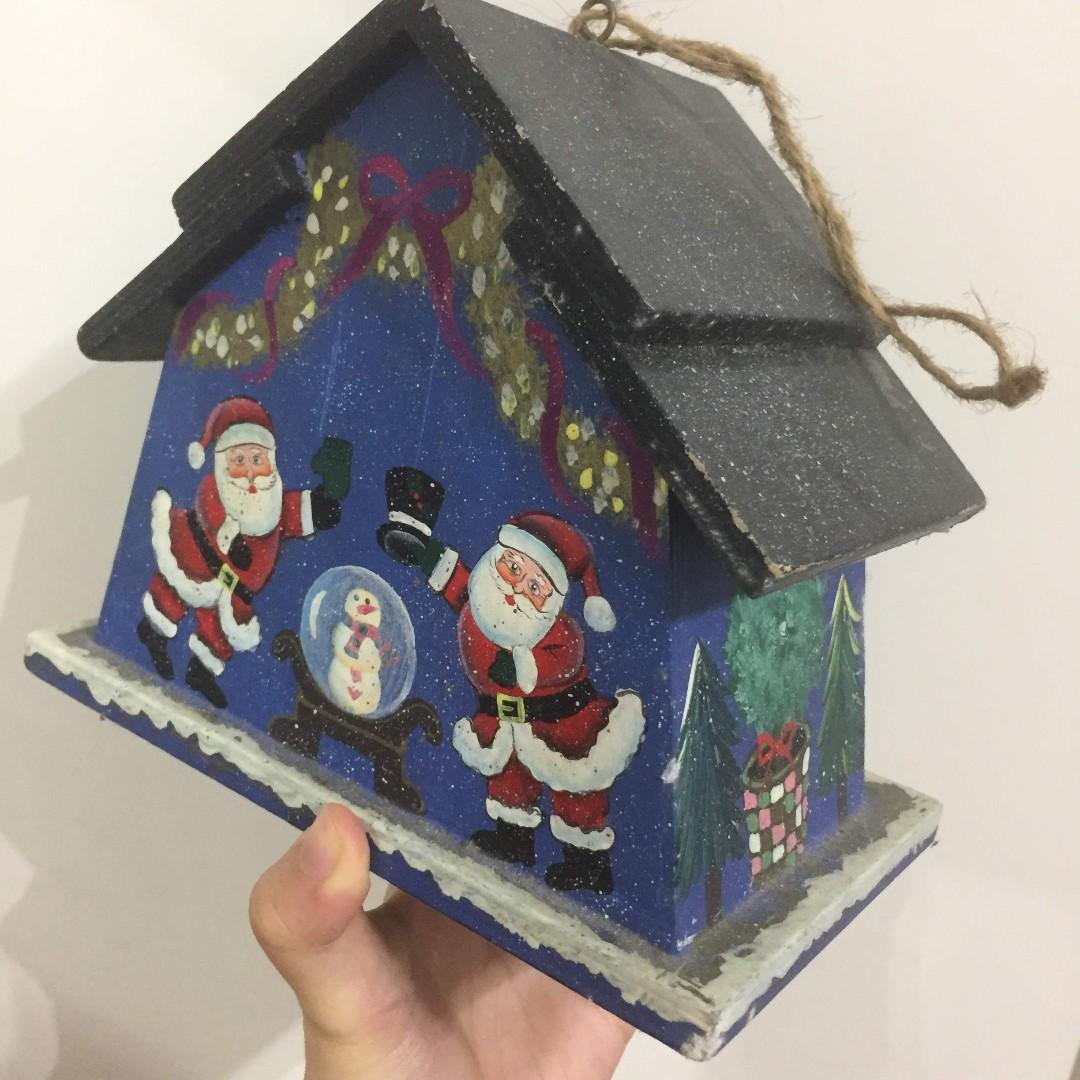 聖誕節 裝飾 小木屋
