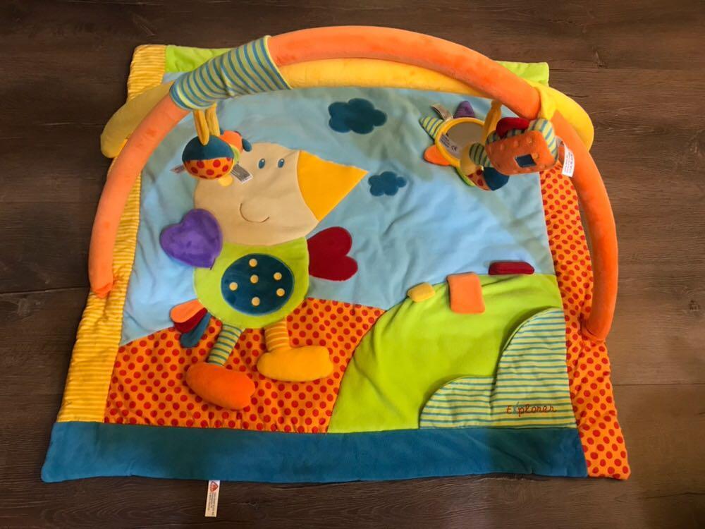 二手 德國 Fehn 芬恩嬰兒遊戲墊 約八成新幾乎沒有污損 $600 (限桃園市桃園區自取)
