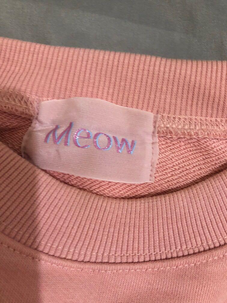 日牌 Meow 大學T 正品