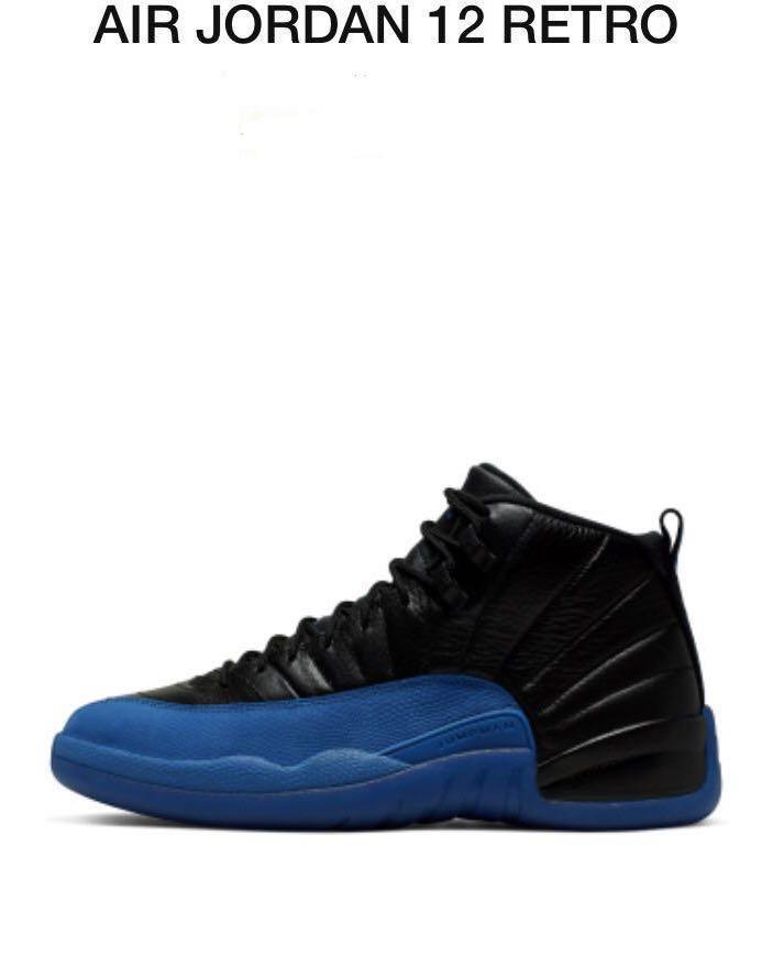 Air Jordan 12 Retro 黑藍 US 9