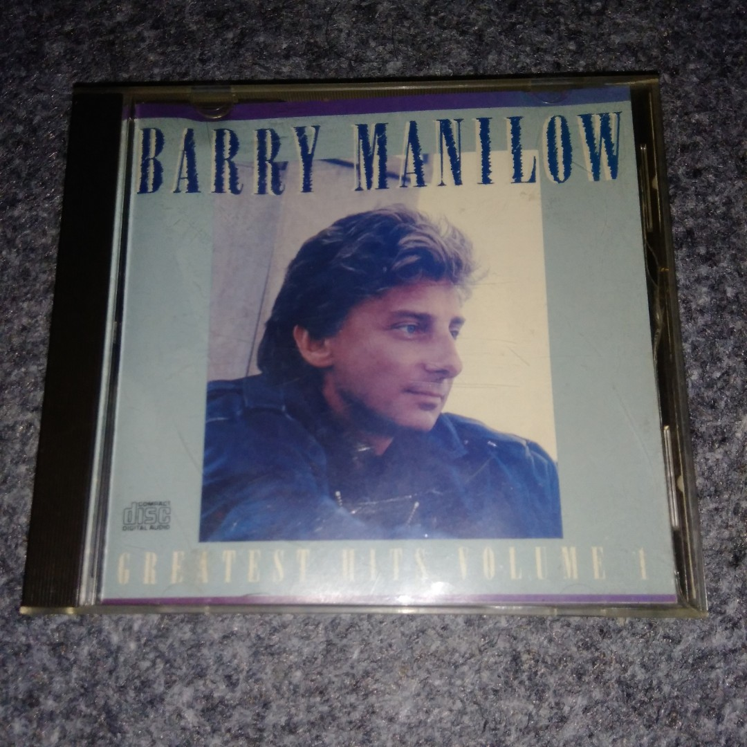 Barry Manilow - Greatest Hits Volume I (Compilation album, 1989)