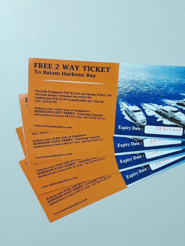 Reduced: Batam Ferry Tickets #winiphone11pro