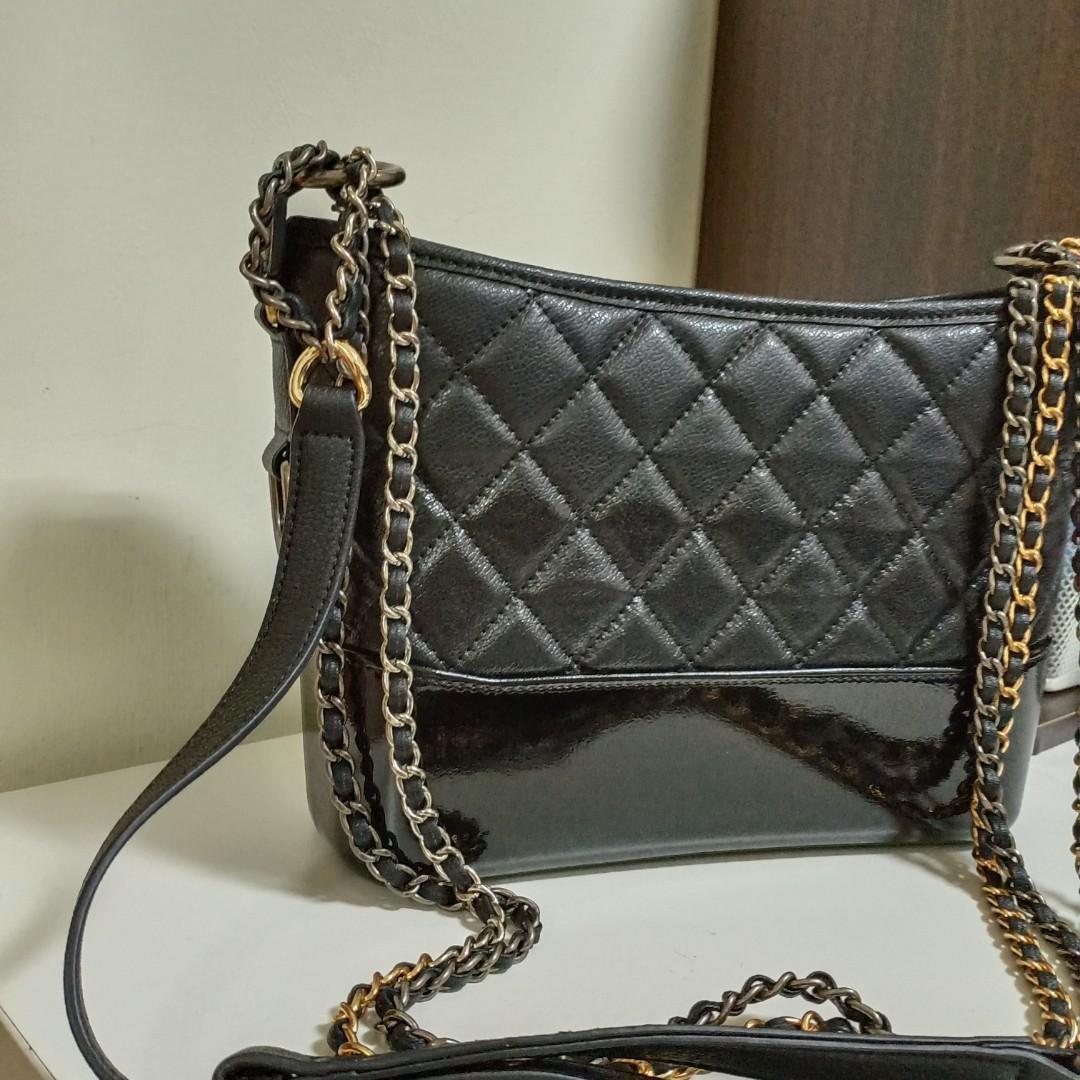 (韓國帶回)Chanel菱格紋流浪包