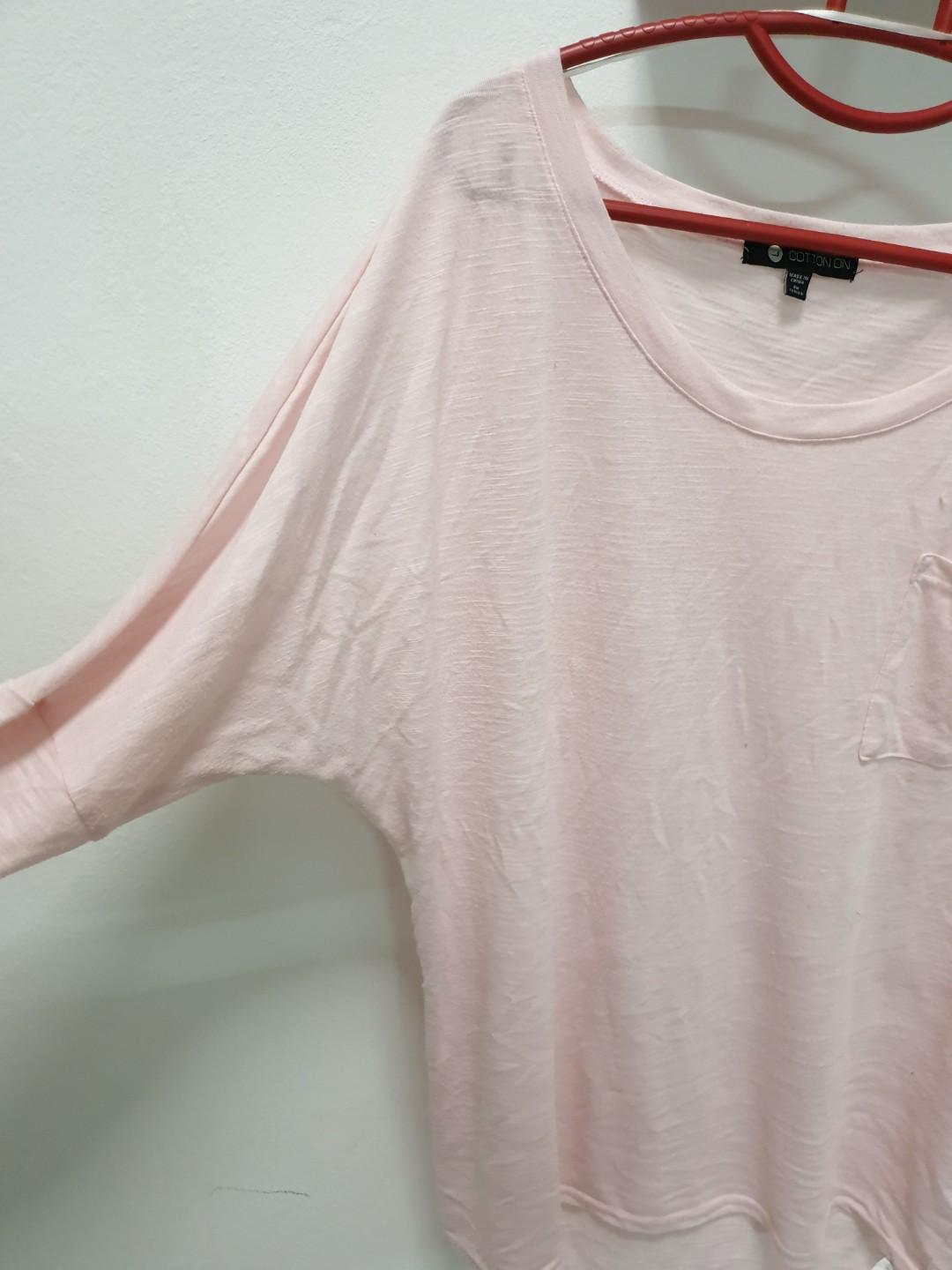Cotton on batwing top