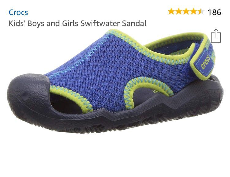 Crocs swiftwater sandals size C7 and C9