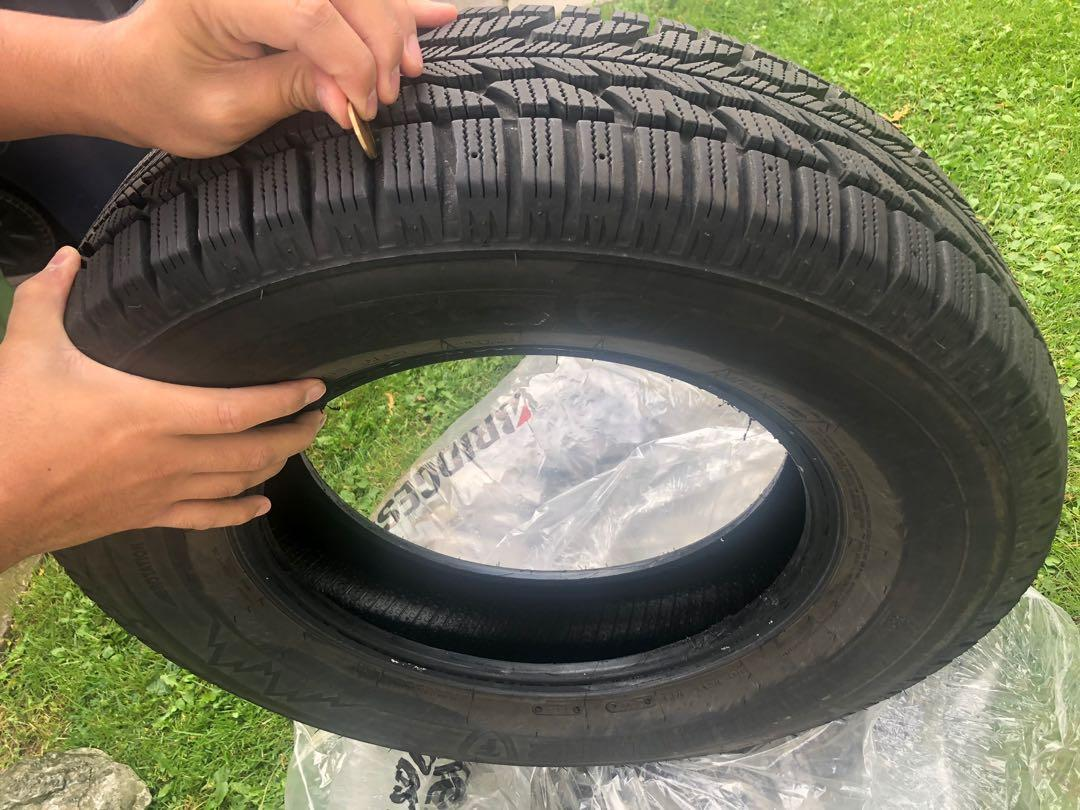 Firestone winterforce tires  205-70-15