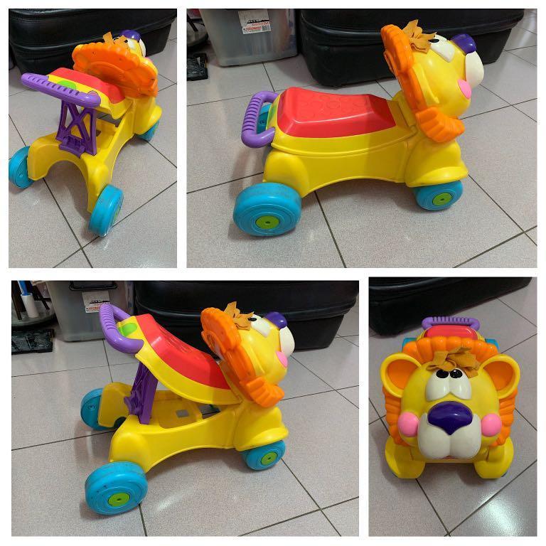 Fisher-Price 獅子學步車