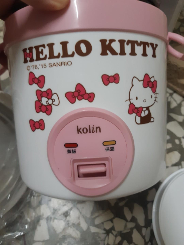 歌林Hello Kitty隨行電子鍋(一人份)