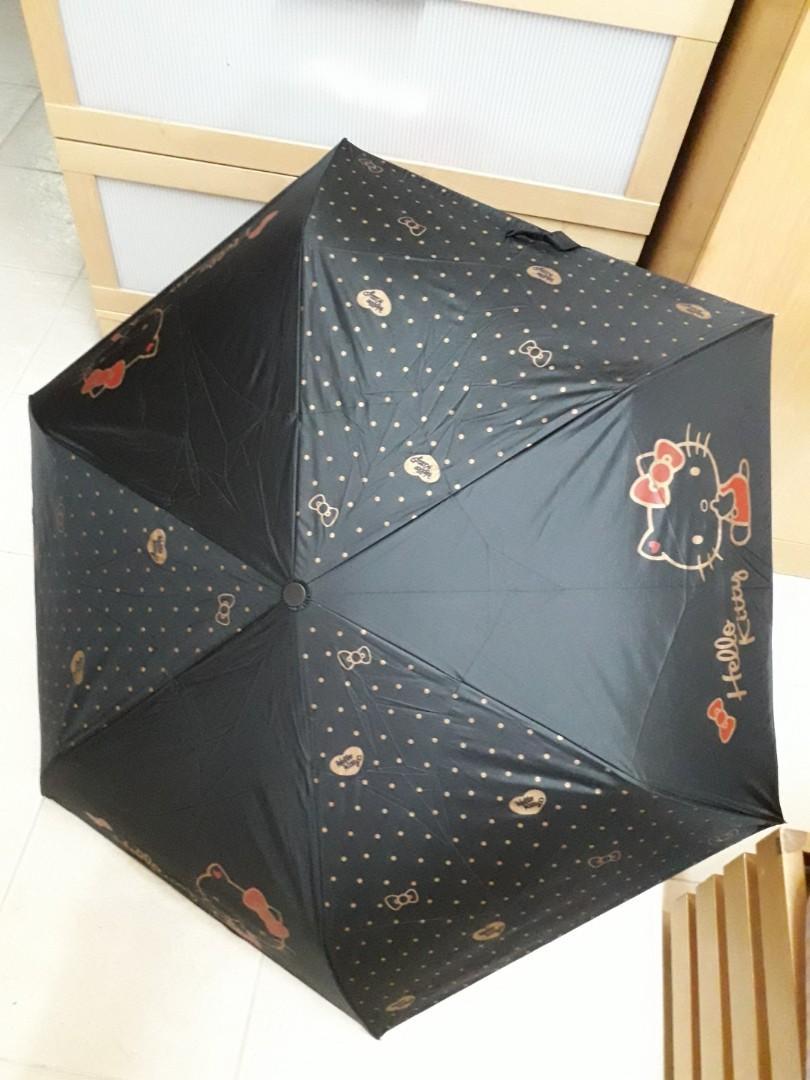 Hello Kitty Automatic Foldable Umbrella