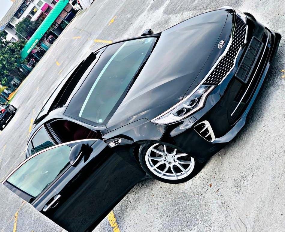 KERETA SAMBUNG BAYAR KIA OPTIMA GT 2.0 TURBO LIMITED EDITION 2017/18