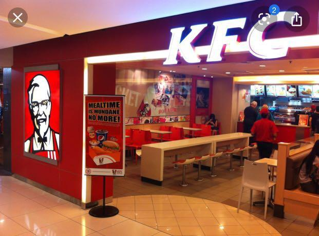 KFC part time crew wanted - Flexible hours