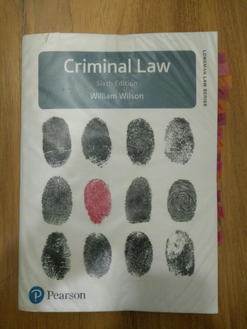 Criminal Law - William Wilson (6th edition)