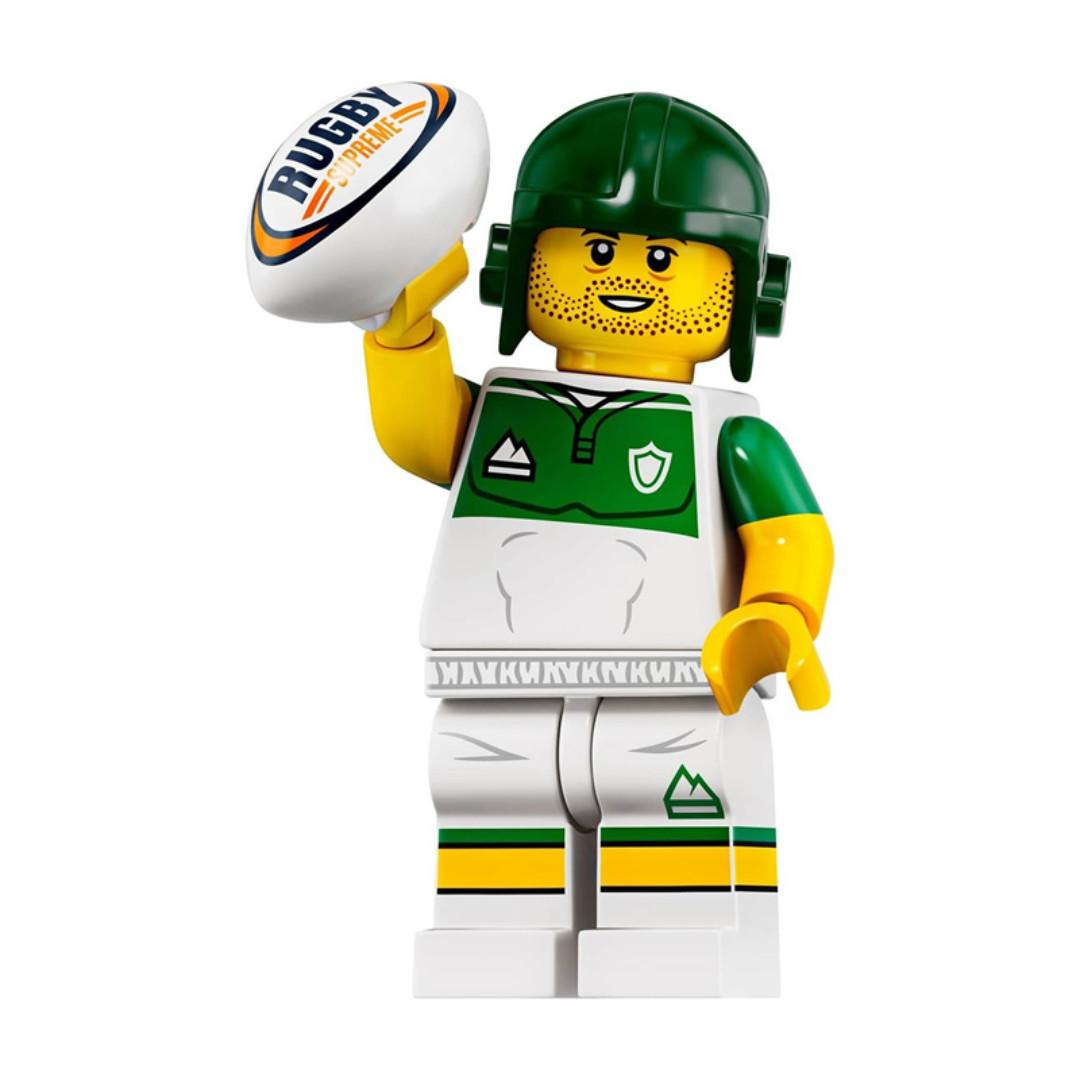 Lego Series 19 Minifigures - Rugby Player