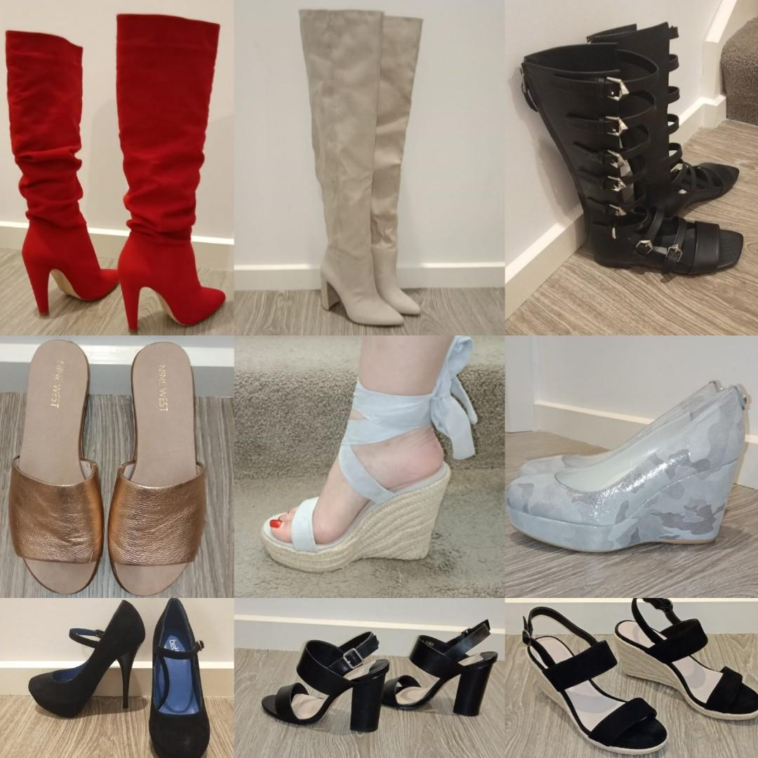 Lots of clothes and shoes sizes xs s 8 and shoes are size au 6 and au 7