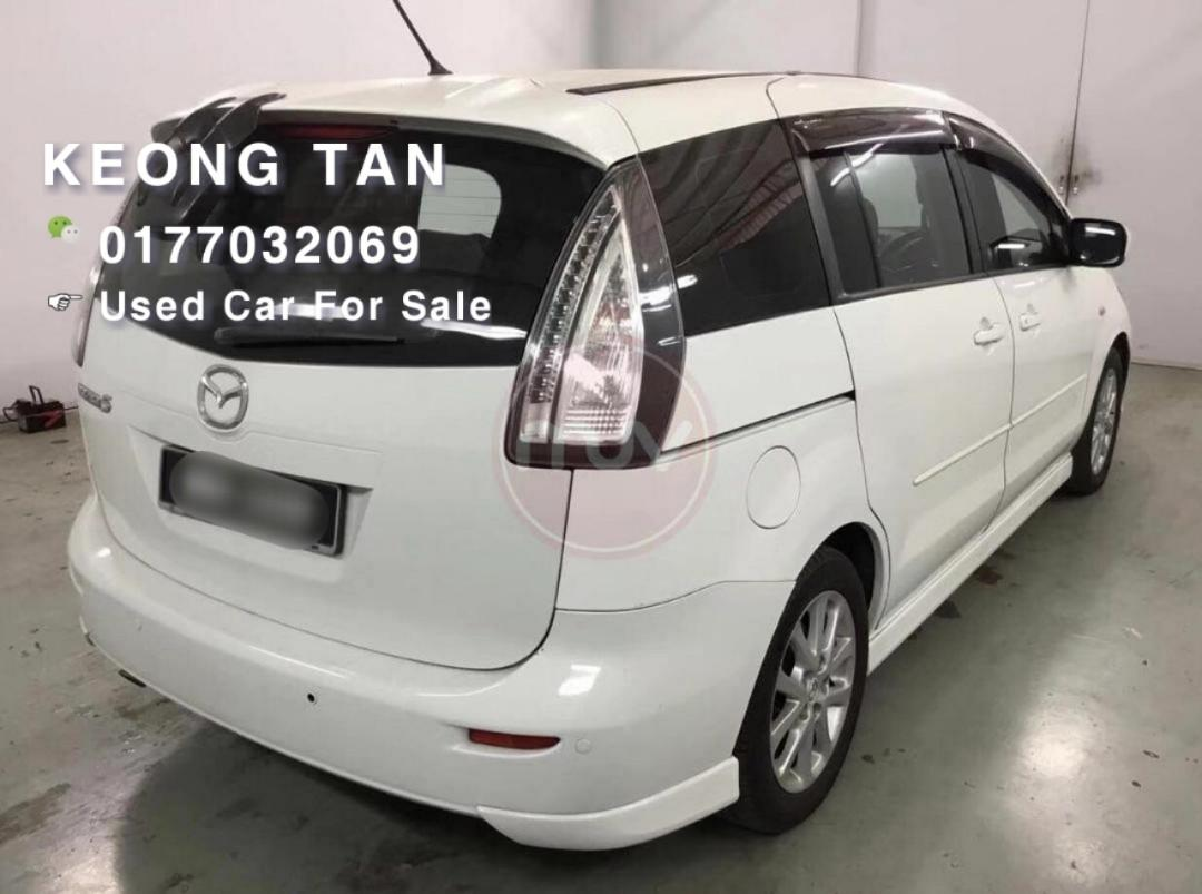 MAZDA 5 2.0AT 2POWER DOOR 7 SEATER 2008TH Cash💰OfferPrice💲Rm2X,Xxx Only!! Monthly Installment Rm580 Only‼LowestPrice InJB‼Interested Call📲KeongFor More